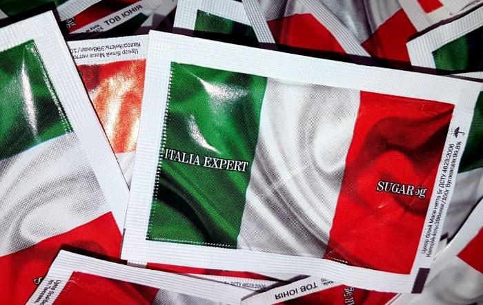 Пакетированный сахара коллекции «ITALIA»!