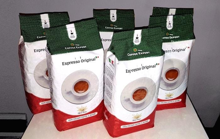 Кофе Espresso Original – бленд Арабики и Робусты, приятный аромат и послевкусие