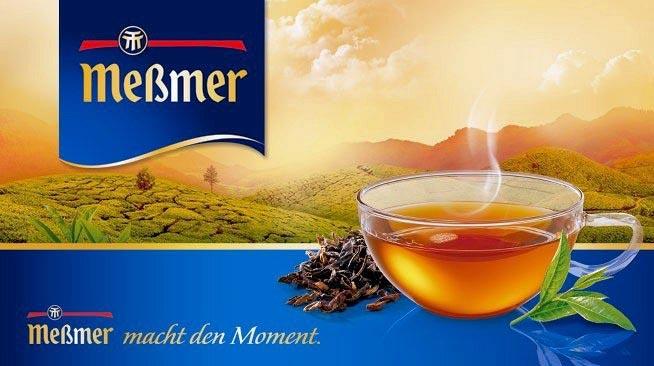 Messmer – чайный бренд № 1 в Германии